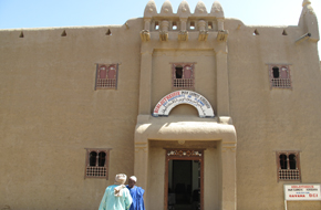 Djenne has remarkable mud buildings