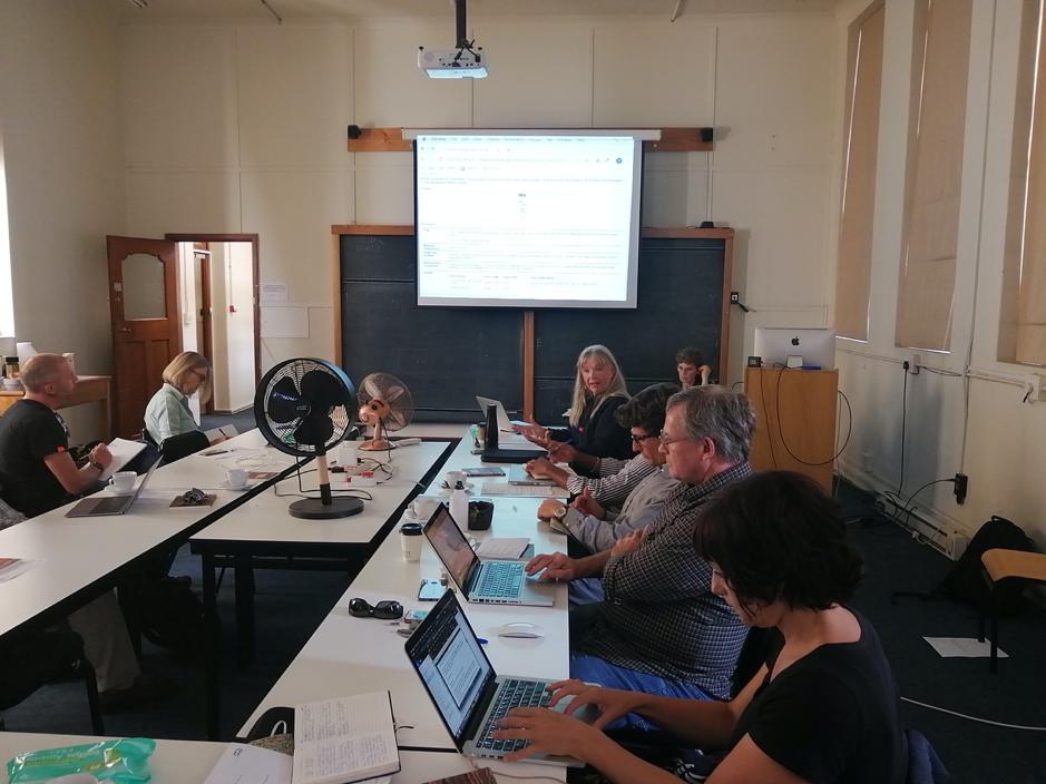 Third Afridig Workshop at UCT's Hiddingh Campus. Photo courtesy of Rifqah Kahn.