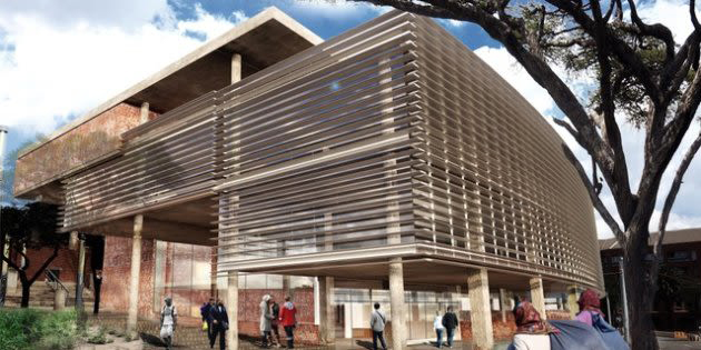 Architectural rendition of the new museum and archive, Mashabane Rose Associates. Source: Talk Radio 702