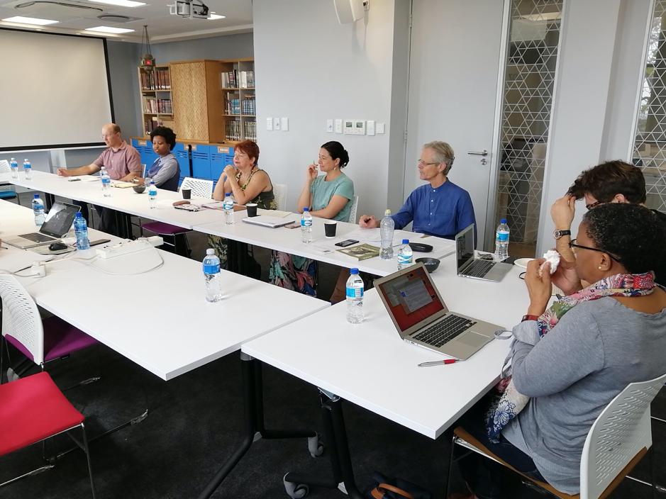 Workshop participants in session. Photo courtesy of Rifqah Kahn.