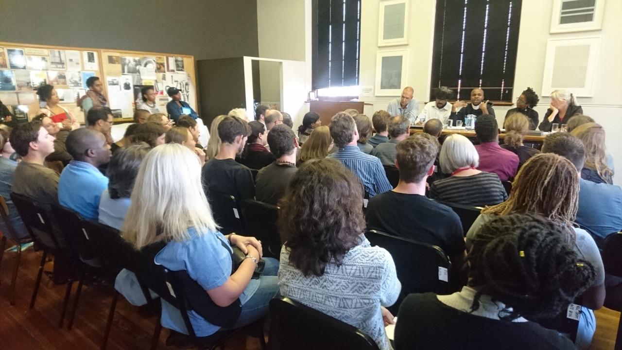 Cape Town launch panellists Lance van Sittert, Bodhi Kar, Ayanda Mahlaba, Lebogang Mokwena and Carolyn Hamilton