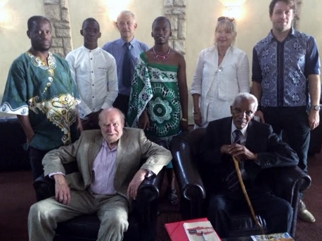 Three generations of passionate archivists and historians, popular and professional, local and foreign, pose for an historic photograph on the occasion of the FHYA stakeholder meeting in Swaziland.