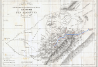 Map of the journey of Thomas Arbousset and François Daumas, printed in Paris in June 1836 and published on the Journal des Missions évangéliques. Edited by Ettore Morelli for FHYA.
