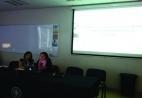 APC affiliates Maria Esperanza Rock Nuñez, left, and Susana Molins Lliteras at the Congress in Concepción.